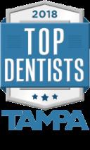 2018 top dentists award tampa magazine 2 80pct