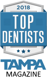 2018 top dentists award tampa magazine